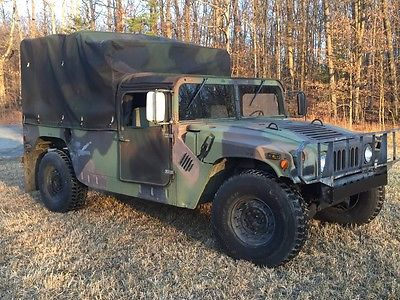 1994 AM General HUMVEE M998 6.5 DIESEL 4X4 LOW COST SHIPPING RATES!