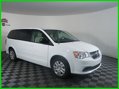 2017 Dodge Grand Caravan SE FWD V6 Van DVD Player Backup Camera Cloth Seats 2017 Dodge Grand Caravan FWD Van 6 Speakers USB AUX UConnect Automatic