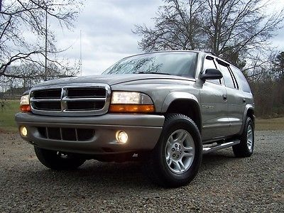 2001 Dodge Durango SLT 4X4 3RD REAR SEAT COLD DUAL AC SOUTHERN WAGON EE NEAT DECENT VALUE PRICED 4WD TOW PKG MAGNUM V8 RUNS SMOOTH CLEAN GA SUV RIG