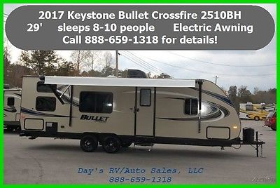 2017 Keystone Bullet 2510BH Travel Trailer Bumper Pull Behind Camper Towable RV