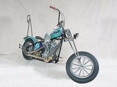 2008 Custom Built Motorcycles Chopper  Custom Eddie Munster USA Chopper owned by Butch Patrick