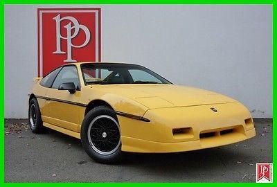 1988 Pontiac Fiero GT 1988 GT Used 2.8L V6 12V Automatic RWD