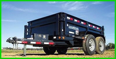 2017 Load Trail 6 x12 Dump w/52k Axles New