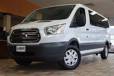 2015 Ford Transit Connect XLT 2015 Ford Transit-350 XLT 43,306 Miles Oxford White 3D Low Roof Wagon 3.7L V6 Ti