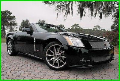 2009 Cadillac XLR Supercharged, Navigation, BOSE, RWD, Chrome Wheels Extremely Rare 2009 Cadillac XLR-V Convertible 443 HP Northstart 4.4L S/C V8 32V