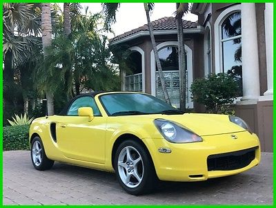 2001 Toyota MR2 Base Convertible 2-Door 2001 Toyota MR2 Spyder 91K MILES! MANUAL! EXCELLENT SHAPE! ICE COLD A/C!