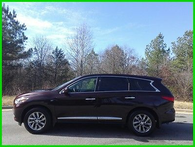 2015 Infiniti QX60 Base Sport Utility 4-Door 2015 INFINITI QX60 SUNROOF 3RD ROW LEATHER - $415 P/MO, $200 DOWN!