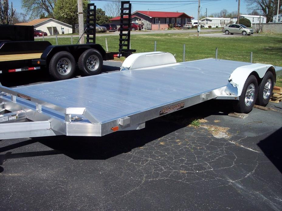 2017 Aluma 8220H Aluminum Car or Equipment Trailer