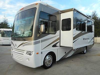 2010 WINDSPORT 32V-2 SLIDES-26K MILES-6 NEW TIRES-VERY CLEAN COACH-