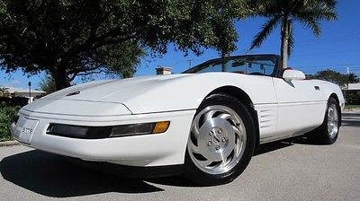 1993 Chevrolet Corvette 2Dr 1993 chevrolet corvette convertible 1 owner fl car in showroom condition wow