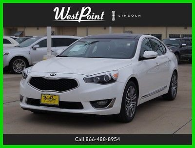 2016 Kia Cadenza Premium 2016 Premium Used 3.3L V6 24V Automatic FWD Sedan Moonroof