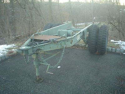 Military Generator Trailer M200A1 Chassis Trailer Utility Tool & Body Co