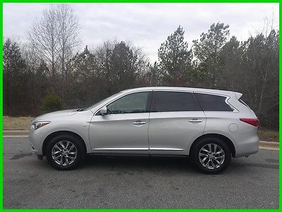 2015 Infiniti QX60 Base Sport Utility 4-Door 2015 INFINITI QX60 SUNROOF 3RD ROW LEATHER 4WD - FREE SHIP- $445 P/MO, $200 DOWN