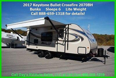 2017 Keystone Bullet Crossfire 2070BH Travel Trailer Bumper Pull Behind Camper