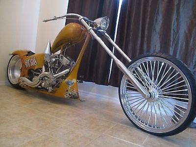 2004 Custom Built Motorcycles Chopper  2004 rolling thunder 26 bigwheel chopper harley project pro street eddietrotta