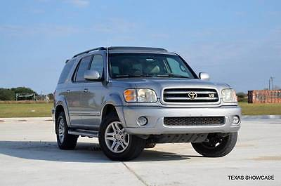 2003 Toyota Sequoia Limited 4dr SUV 2003 Toyota Sequoia Limited 4dr SUV Automatic 4-Speed RWD V8 4.7L Gasoline