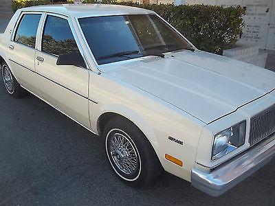 1983 Buick Skylark 1983 BUICK SKYLARK SURVIVOR ONLY 25,000 MILES!! BARN FIND!