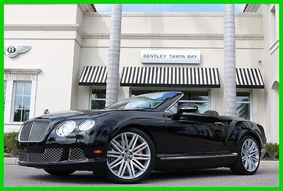 2014 Bentley Continental GT Speed 2014 Speed Used Certified Turbo 6L W12 48V Automatic AWD