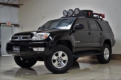 2005 Toyota 4Runner SR5 TOYOTA 4RUNNER SR5 LIFTED 4X4 AWD V8  AUTOMATIC CLEAN OFF ROAD CLEAN ROOFRACK