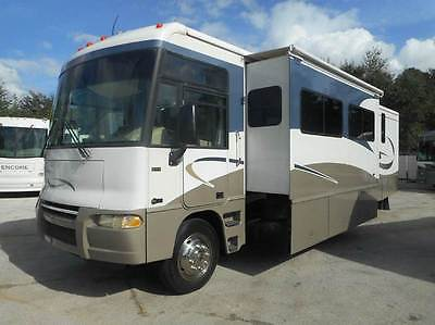 2005 ITASCA SUNRISE 35A-3 SLIDES-WASH/DRYER-6 NEW TIRES-VERY CLEAN-