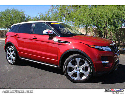 2015 Land Rover Range Rover Dynamic 2015 Land Rover Range Rover Evoque Dynamic 6005 Miles Firenze Red Metallic SUV 4