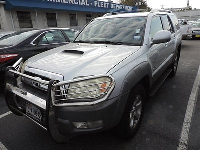 2003 Toyota 4Runner 4DR 2003 Toyota 4Runner 4DR 178,297 Miles Silver Sport Utility Gas V8 4.7L/ Automati