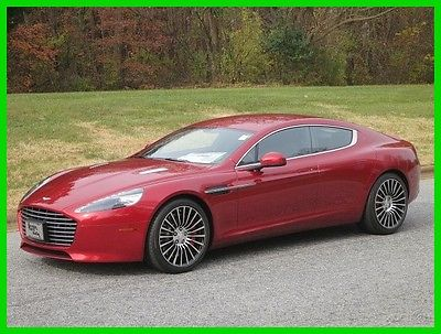 2015 Aston Martin Other 4DR SDN AT 2015 4DR SDN AT Used 6L V12 48V RWD Premium