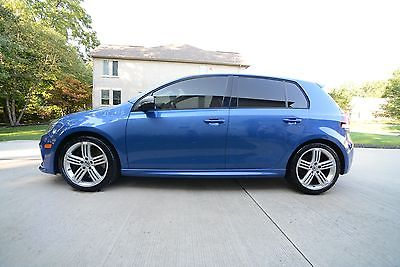 2012 Volkswagen Golf  2012 GOLF R 6 SPD MANUAL AWD BLUE HATCHBACK 74,000 MILES SAVE BIG
