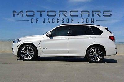 2015 BMW X5 xDrive50i M Sport SUV 3rd seat 15 BMW X5 AWD xDrive 50i MSport Executive Harmon Kardon LOADED M 3rd seat 2016