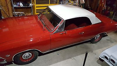 1966 Chevrolet Chevelle  1966 Chevrolet Chevelle Convertible Numbers Matching 327