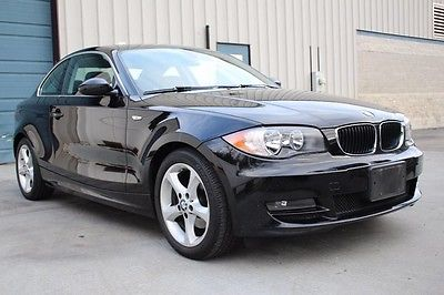 2009 BMW 1-Series 128i 6 Speed Manual 3.0L Coupe 2009 BMW 1 Series 128i Sunroof Heated Seats Cpe 09 E82 3.0 Knoxville TN