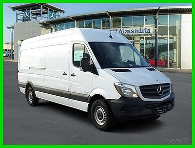 2016 Mercedes-Benz Sprinter High Roof 2500/170 WB 2016  High Roof 2500/170 WB New Turbo Automatic RWD