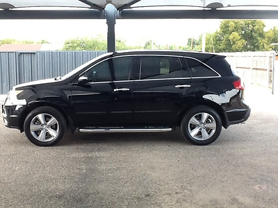 2012 Acura MDX 2102 Acura MDX 4 Door AWD Tech/Entertainment Pkg 2012 Acura MDX 4 Door AWD Tech/Entertainment Pkg (3.7 Liter) Black/Ebony