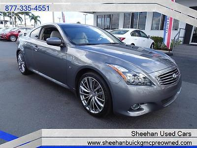 2014 Other Makes  2014 INFINITI Q60 COUPE JOURNEY GRAY 3.7L V6 NAVIGATION SUNROOF POWER AUTO AIR
