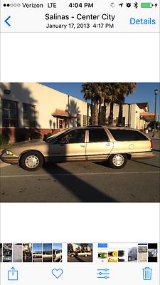 1991 Oldsmobile Custom Cruiser 1991 oldsmobile custom cruiser rare wagon