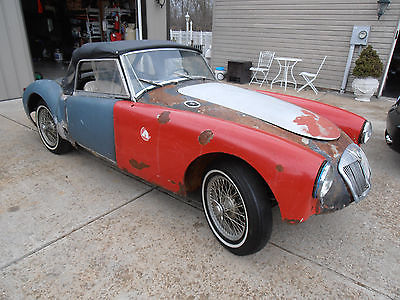 1958 MG MGA roadsters 1958 MG MGA Wire Wheel Roadster