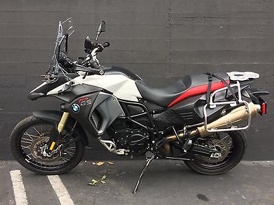 2016 BMW F-Series  2016 BMW F800 GS Adventurer Motorcyle (LIKE NEW)