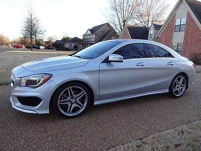 2014 Mercedes-Benz CLA-Class 250 4MATIC ARKANSAS-OWNED, NONSMOKER, NAV, PANORAMIC ROOF, HEATED SEATS, PERFECT CARFAX!