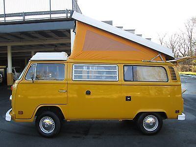 1977 Volkswagen Bus/Vanagon Westfalia 1977 Volkswagen Westfalia Campmobile
