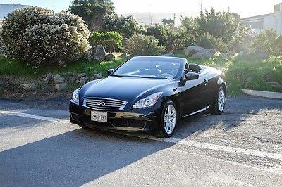 2010 Infiniti G37 -- 2010 Infiniti G37  72,504 Miles Black 2D Convertible 3.7L V6 DOHC 24V 7-Speed Au