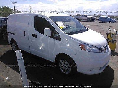 2014 Nissan NV NV200 VAN 2014 NISSAN NV200 SV MINI CARGO VAN 4-Door 2.0L
