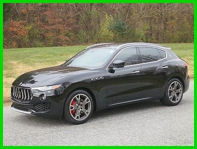 2017 Maserati Other S 2017 S Used Turbo 3L V6 24V Automatic AWD Premium