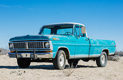 1970 Ford F-100 Sport Custom  1970 Ford F-100 Sport Custom, 302 V-8, C4 Automatic, New Engine Original