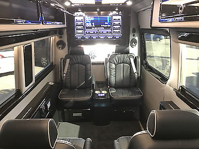 2017 Mercedes-Benz Sprinter Business Class Limo with Bathroom 4x4 2017 Mercedes Benz Sprinter 4x4 170 Ext. Bathroom, Business Class Series. Limo