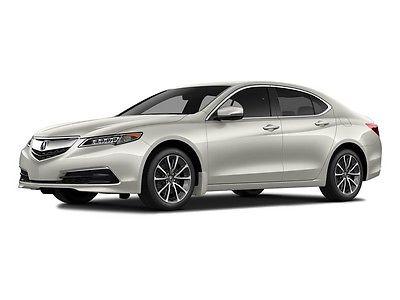2015 Acura TLX 4dr Sedan SH-AWD V6 Tech 4dr Sedan SH-AWD V6 Tech Low Miles Gasoline 3.5L V6 Cyl WHITE
