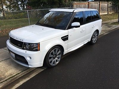 2013 Land Rover Range Rover Sport Limited 2013 Land Rover Range Rover Sport SC