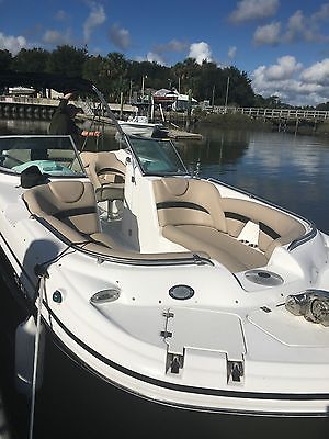 2015 Hurricane Deck Boat 24', 2015 Yamaha Motor.  Like new--only 42 hours!, 1