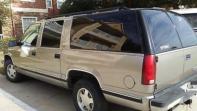 1999 Chevrolet Suburban  1999 Chevrolet Suburban 1500