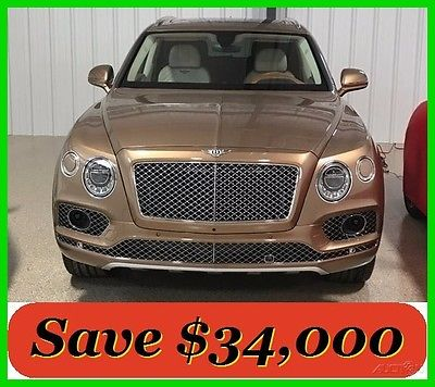 2017 Bentley Other W12 Bentayga Bentley V12 SUV 2017 W12 - $292K MSRP - Save $34K vs New - Only 57 Original Miles - Perfect!
