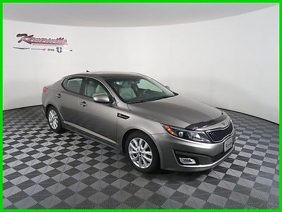 2015 Kia Optima EX FWD I4 Sedan Sunroof Heated Seats Backup Camera 41k Miles 2015 Kia Optima EX FWD Sedan Push Start Cooled Ventilated Leather